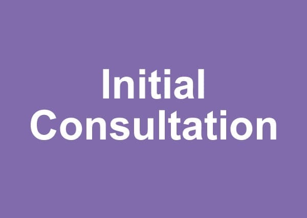 Hypnotherapy Initial Consultation